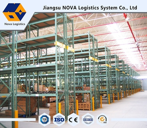 Electrastic Powder Coating Warehouse Storage Pallet Rack